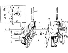 Motor és motorház