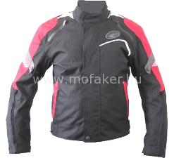 Textilkabát GS-20 fekete-piros rövid M Rush-M MO-FA-KER Kft. 40e5bba236