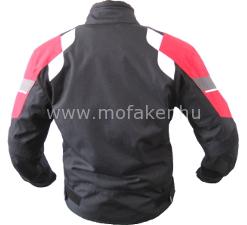 Textilkabát GS-20 fekete-piros rövid L Rush-M MO-FA-KER Kft. d926797d2e