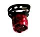 Villogó lámpa piros 1 ledes pántos Ruby HJ-016